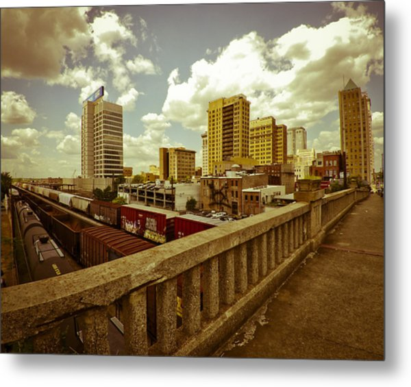 Viaduct View Metal Print