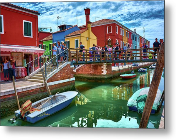 Vibrant Dreams Floating In The Air Metal Print