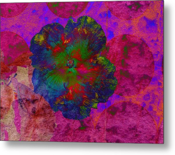 Vibrant Flower Series 1 Metal Print by Jen White