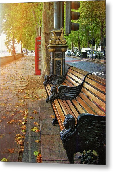 Victoria Embankment Metal Print by JAMART Photography