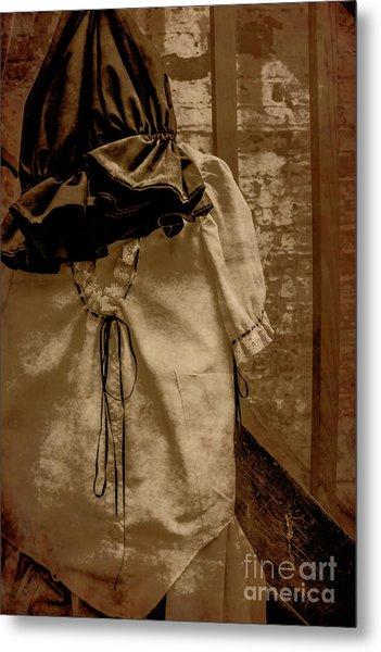 Victorias Gown Metal Print