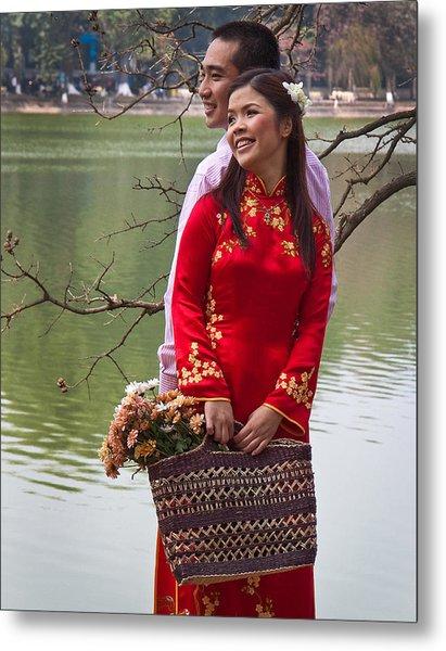 Vietnam Wedding Metal Print