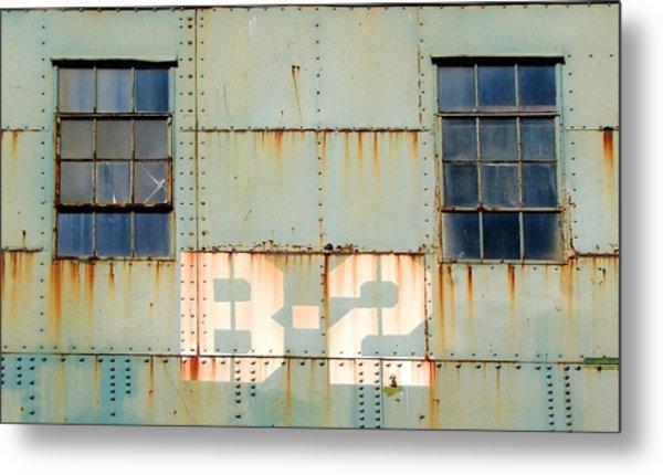 View B-2 Metal Print