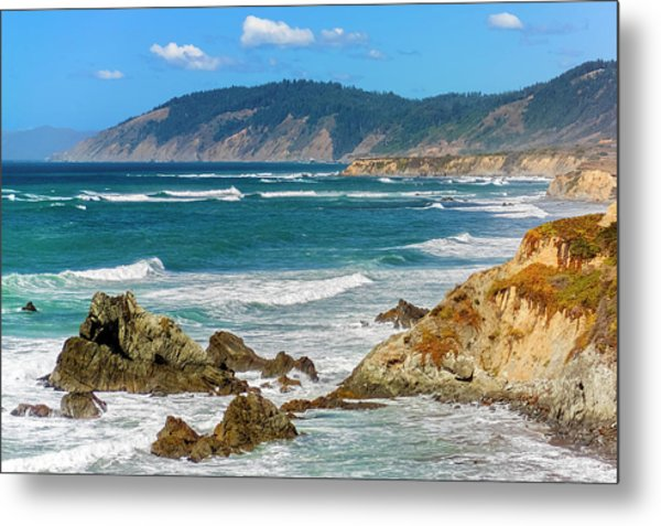 View From Abalone Point Metal Print
