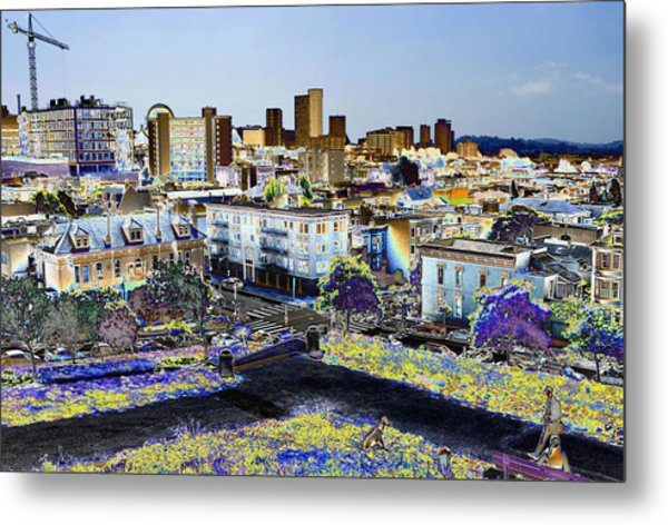 View From Alta Park Metal Print