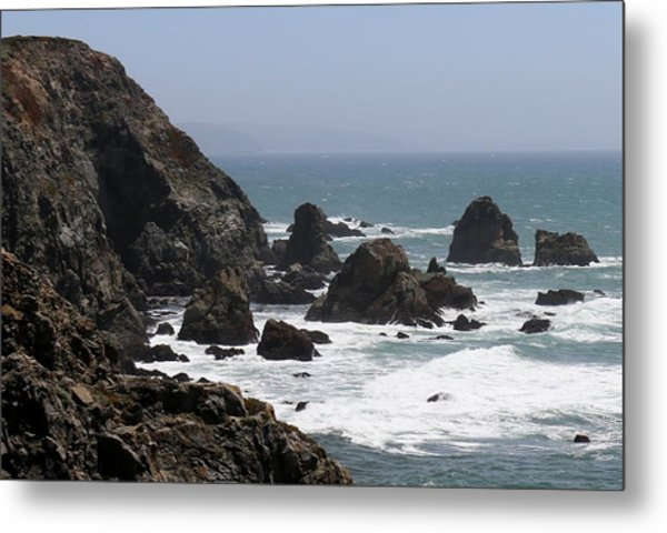 View From Bodega Head In Bodega Bay Ca - 4 Metal Print