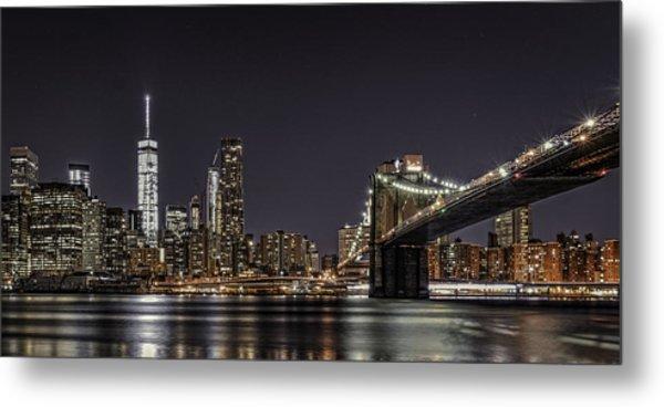 View From Brooklyn Bridge Park Metal Print