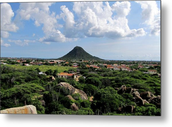 View From Casibari Metal Print