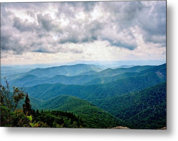 View From Devil's Courthouse Metal Print