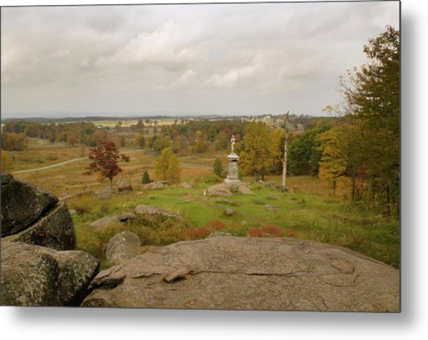 View From Little Round Top 2 Metal Print
