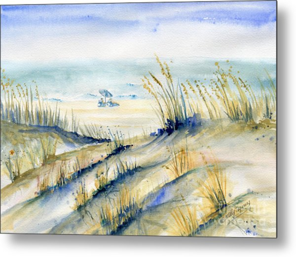 View From Marty's Playland Ocmd Metal Print