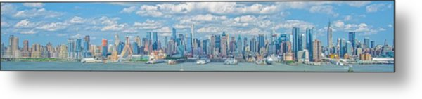 View From New Jersey 2 Metal Print