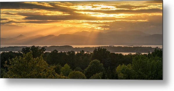 View From Overlook Park Metal Print