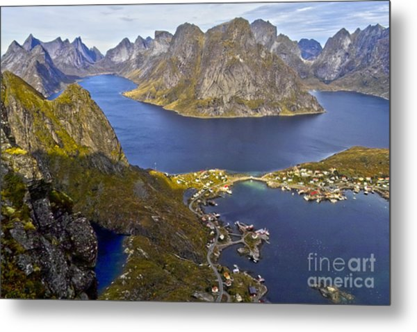 View From Reinebringen Metal Print