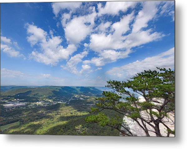 View From Sunset Rock 3 Metal Print