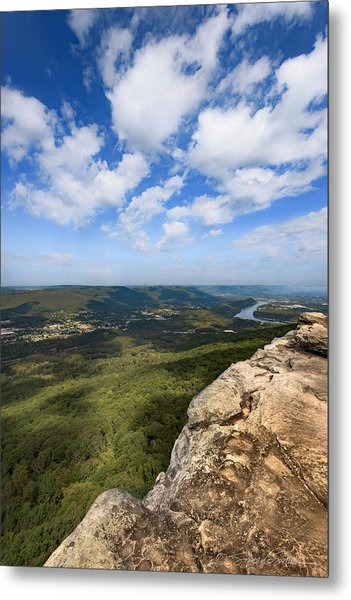 View From Sunset Rock 4 Metal Print