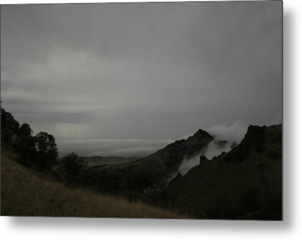 View From Sutter Buttes Metal Print