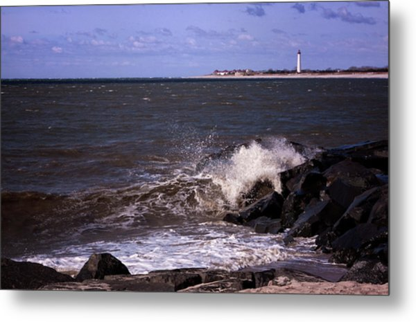 View From The Cove Metal Print