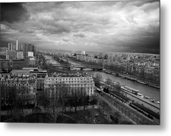 View From The Eiffel Tower Metal Print
