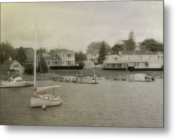 View From The Ferry Metal Print by JAMART Photography