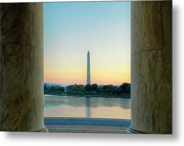 View From The Jefferson Memorial Metal Print