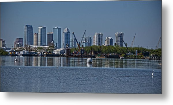 View From The Port Metal Print by Chauncy Holmes