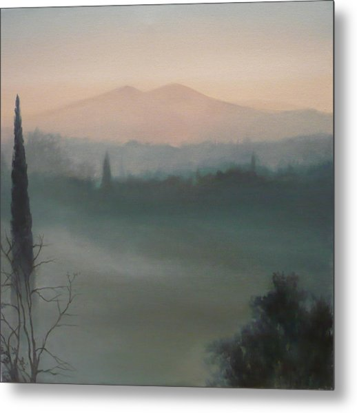 View From The Terrace Metal Print