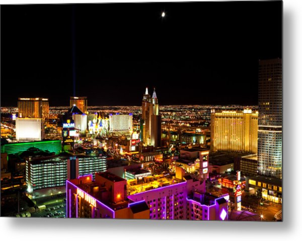View From The Top Metal Print by James Marvin Phelps
