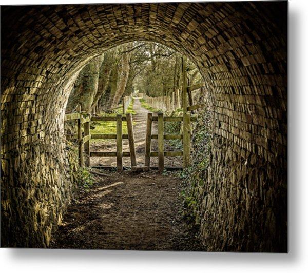 View From The Tunnel Metal Print