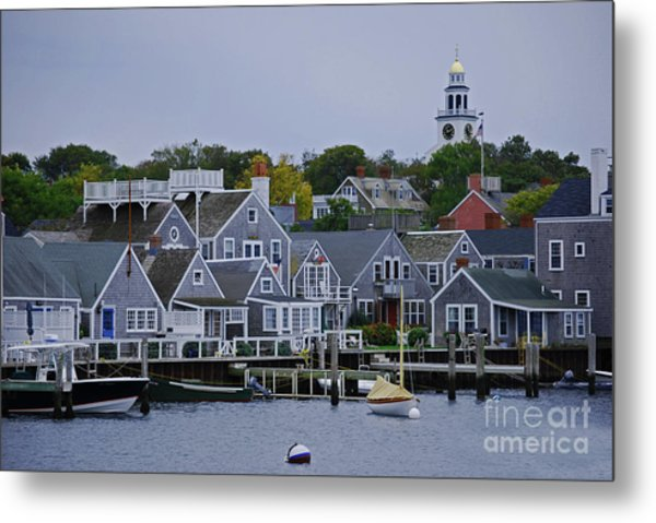 View From The Water Metal Print