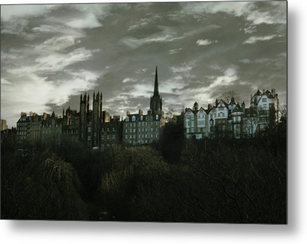 view of Edinburgh II Metal Print