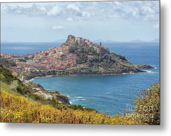 View On Castelsardo Metal Print