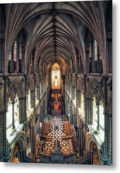 View Through Ely Cathedral Metal Print