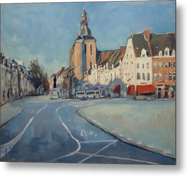 View To Boschstraat Maastricht Metal Print