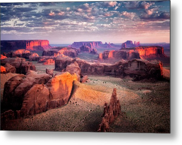 Views From The Edge  Metal Print