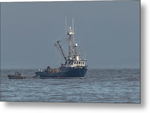 Viking Fisher 1 Metal Print