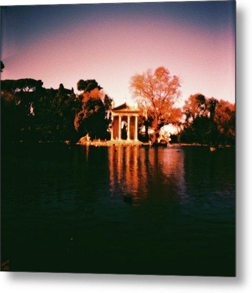 Villa Borghesse Rome Metal Print
