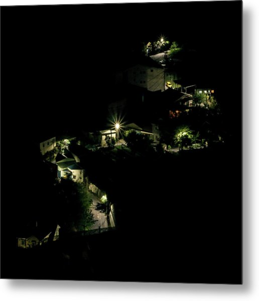 Village Of Ember Metal Print