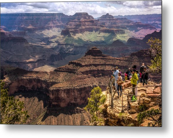 Village Rim Trail Metal Print