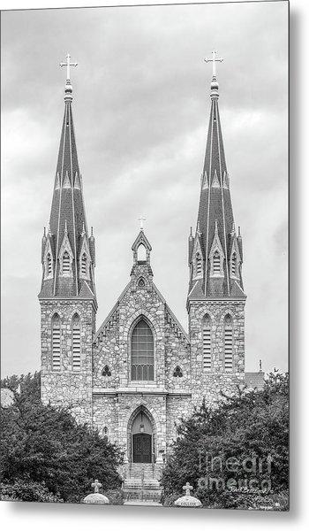 Villanova University St. Thomas Of Villanova Church Metal Print