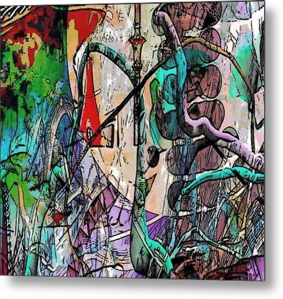 Vine Metal Print by Dave Kwinter