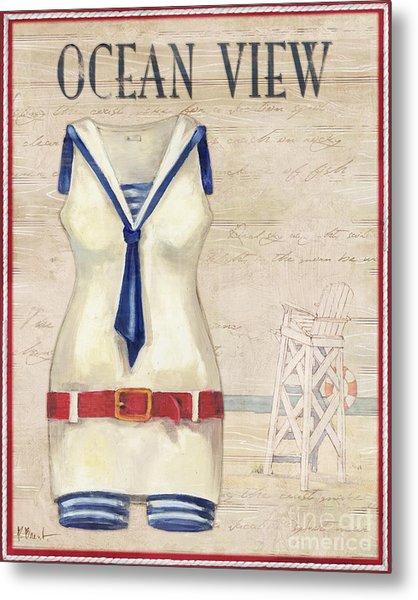 Vintage Bathing Suits IIi Metal Print by Paul Brent