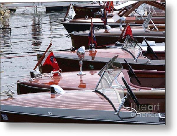 Vintage Boats Metal Print