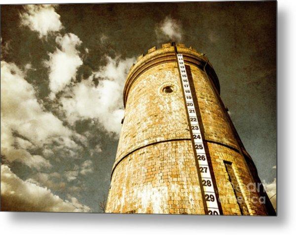 Vintage Evendale Water Tower Metal Print