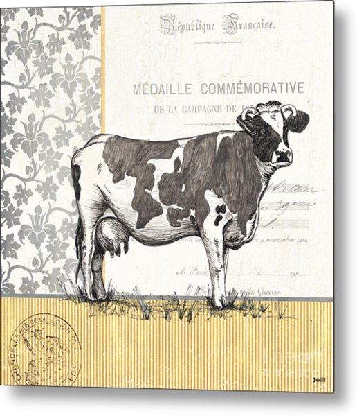 Vintage Farm 4 Metal Print