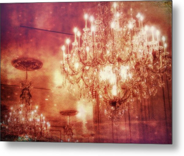 Vintage Light Metal Print by JAMART Photography