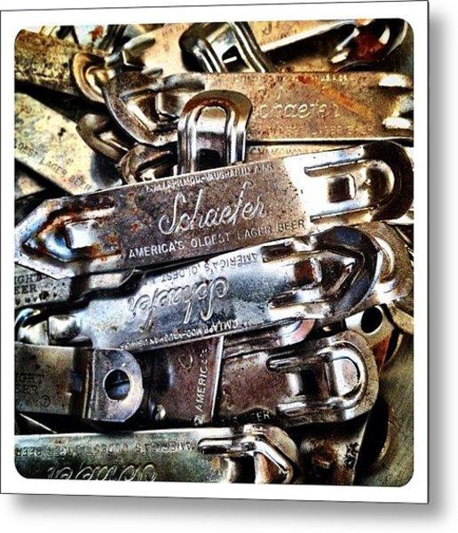 Vintage Schaefer Metal Print