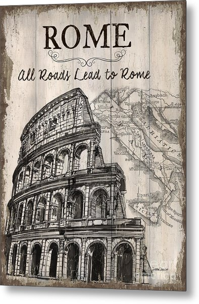 Vintage Travel Poster Metal Print