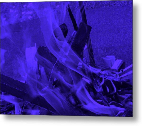 Violet Shine I I Metal Print