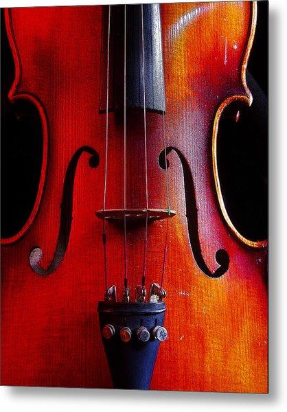 Violin # 2 Metal Print